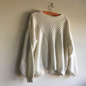 VINTAGE Chunky Sweater